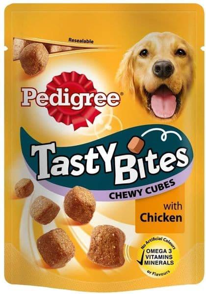 Pedigree Tasty Bites Chicken Cubes 130g