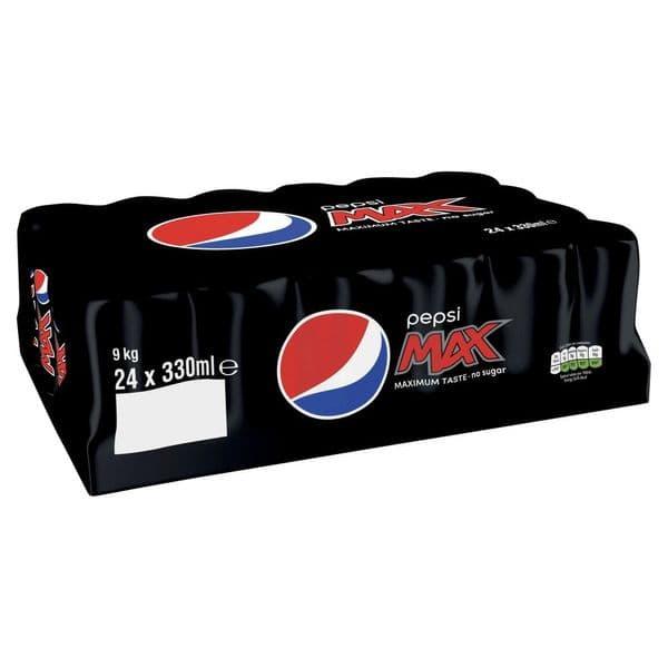 Pepsi Max 24x330ml