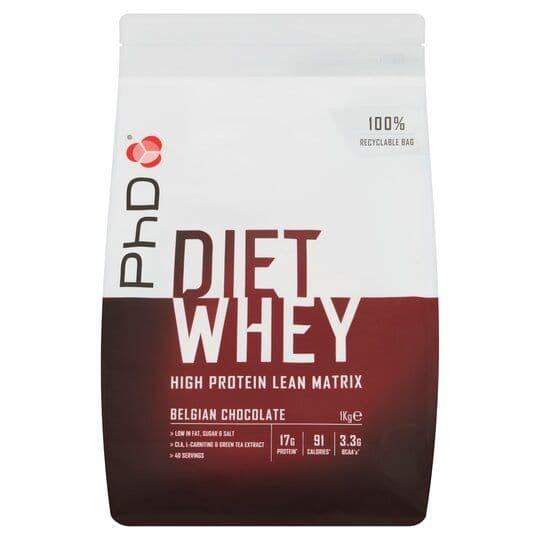 PHD Diet Whey Belgian Chocolate 1kg