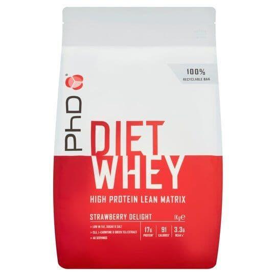 PHD Diet Whey Strawberry Delight 1kg