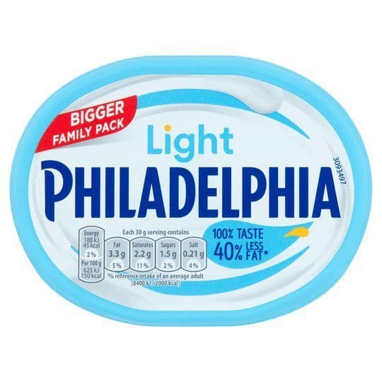 Philadelphia Family Pack Light 340g