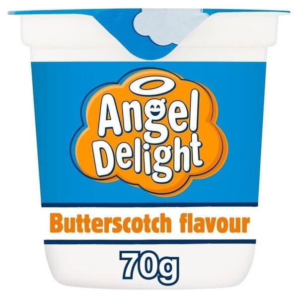 Pot of Angel Delight Butterscotch 70g