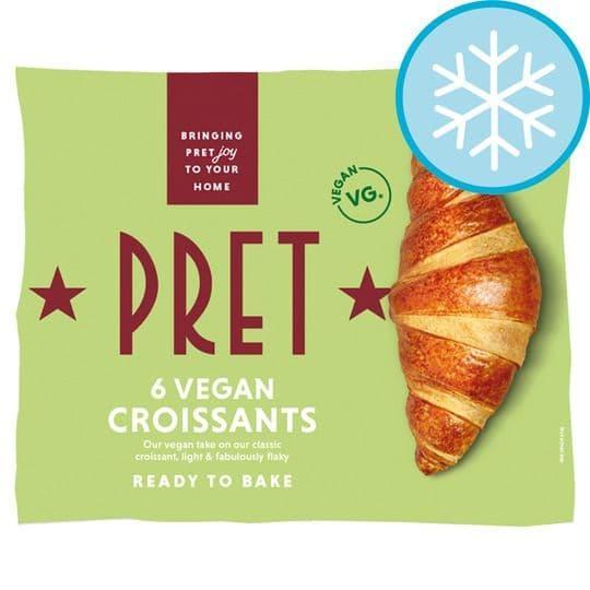 Pret Plain Vegan Croissants 360g
