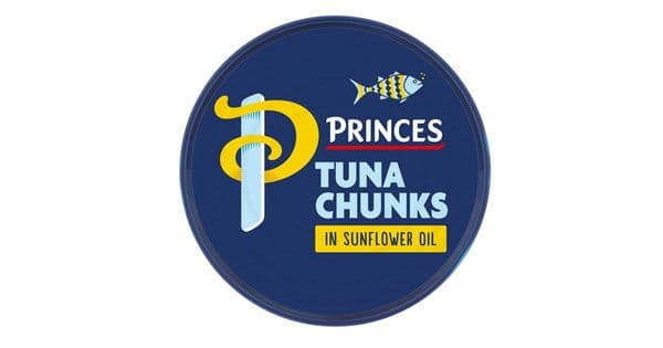 Princes Tuna Chunks in Sunflower Oil 145g