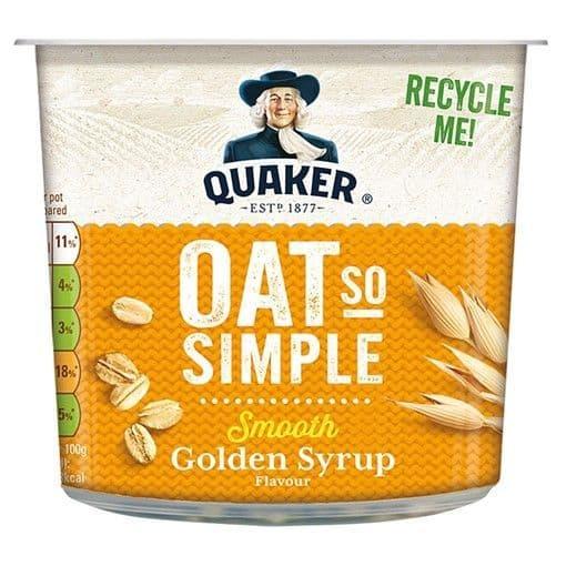 Quaker Oats So Simple Porridge Pot Golden Syrup 57g