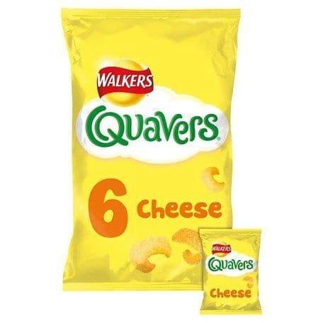 Quavers 6pk