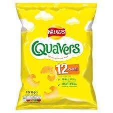 Quavers Crisps 12pk