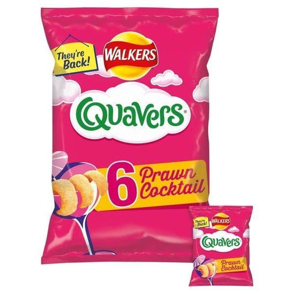 Quavers Prawn Cocktail 6pk