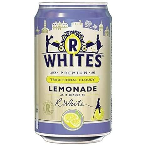 R Whites Cloudy Lemonade 24x330ml