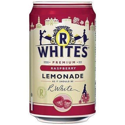 R Whites Raspberry Lemonade 24x330ml
