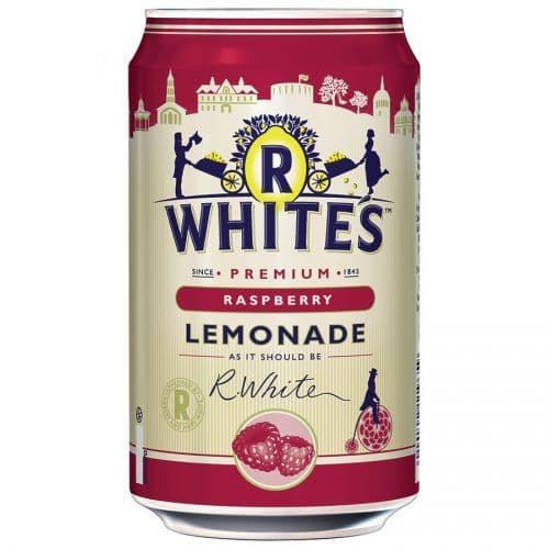 R Whites Raspberry Lemonade 330ml Can