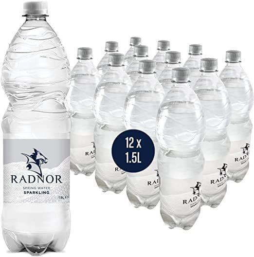 Radnor Spring Water Sparkling 12x1.5L