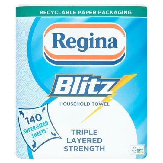 Regina Blitz Kitchen Towels 2 Rolls