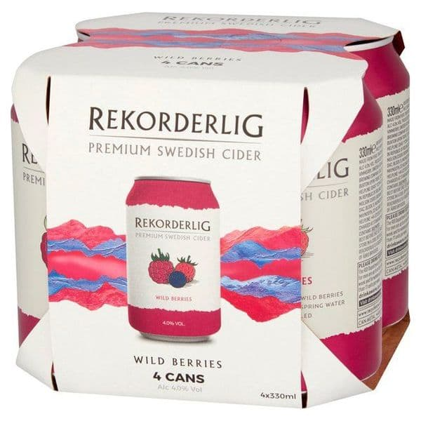 Rekorderlig Wild Berries 4x330ml