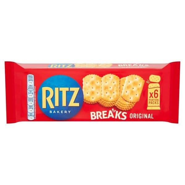 Ritz Breaks Original Crackers 6x31.6g