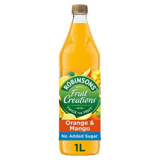 Robinsons Fruit Creations Orange & Mango 1L