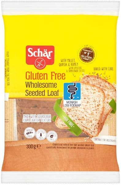 Schar Wholesome Seeded Sliced Bread 300g