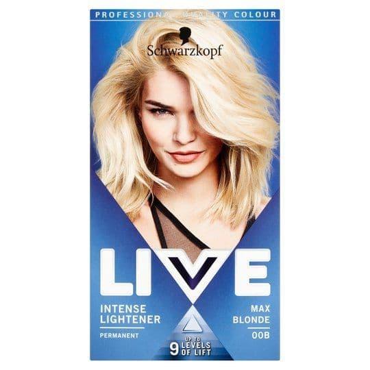 Schwarzkopf Live Colour XXL 00B Max Blonde