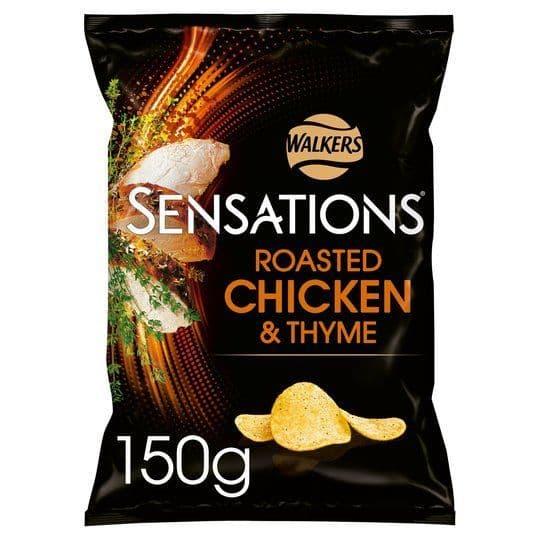 Sensations Roast Chicken & Thyme 150g