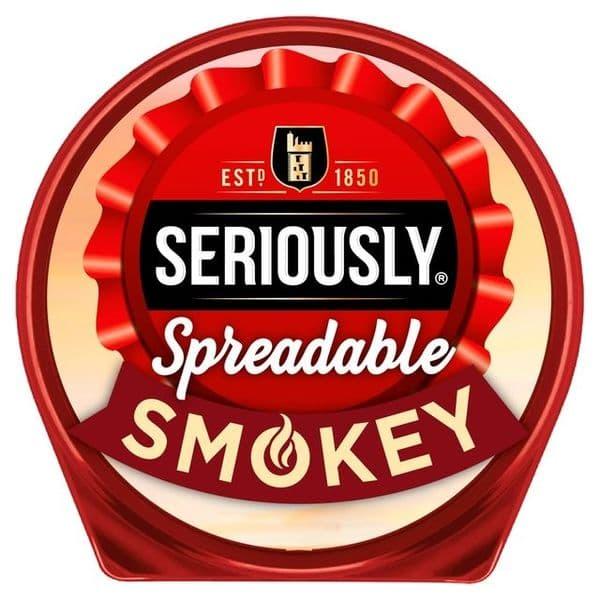 Seriously Strong Spreadable Smokey 125g