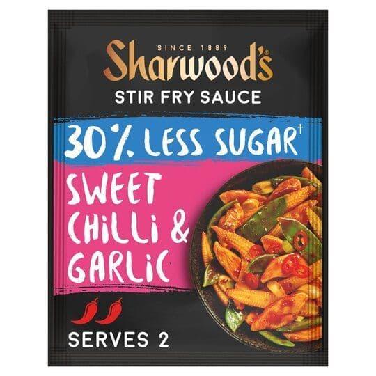 Sharwoods Stir Fry Sauce Sweet Chilli & Garlic 120g