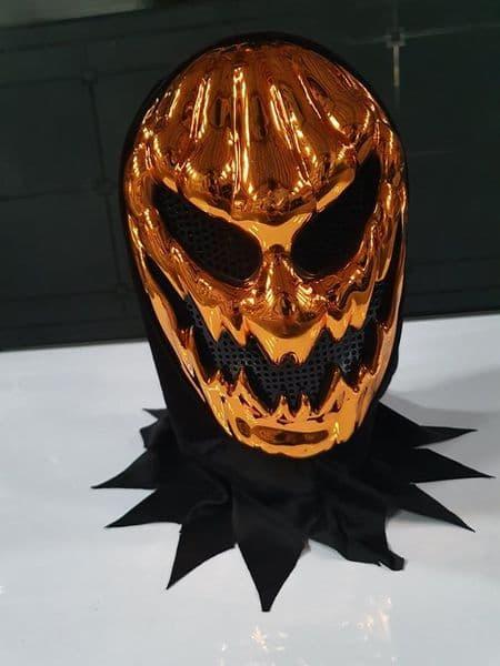 Shiny Pumpkin Mask