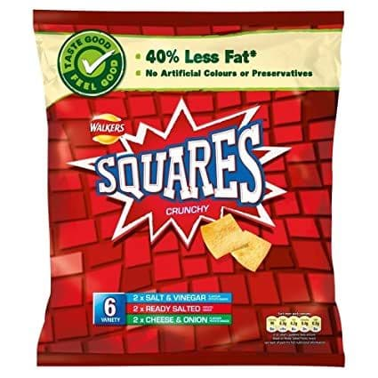 Squares Variety 6 Pack