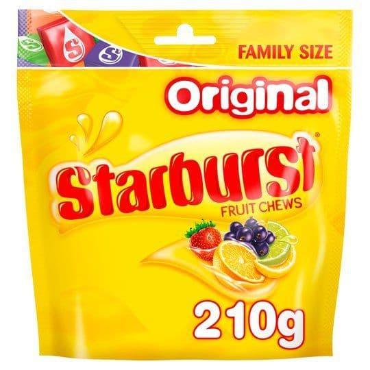 Starburst Original Pouch 210g
