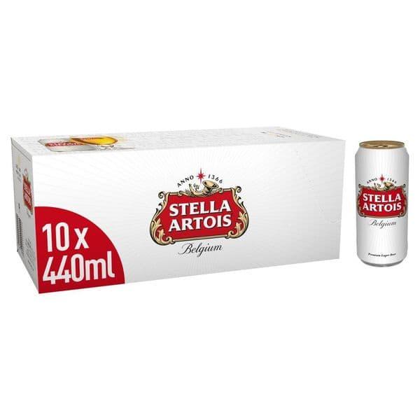 Stella Artois 10x440ml Cans