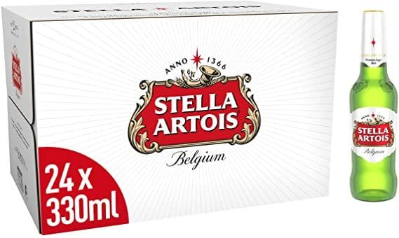 Stella Artois 24x330ml Bottles