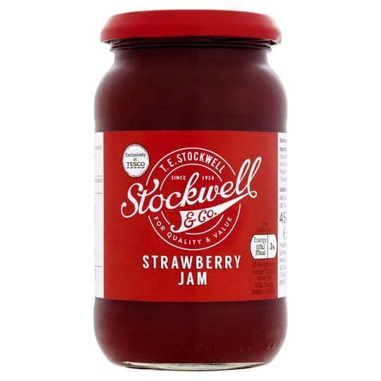 Stockwell & Co Strawberry Jam 454g
