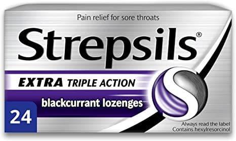 Strepsils Triple Action Blackcurrant 24pk