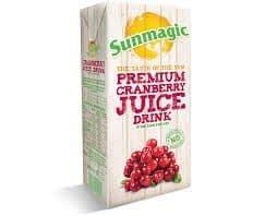 Sunmagic Cranberry Juice 1L