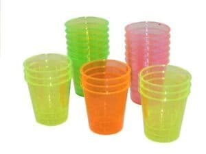 Swantex 20 Neon Shot Glasses