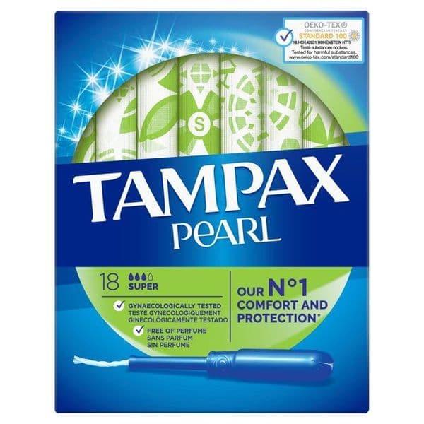 Tampax Pearl Super 18pk