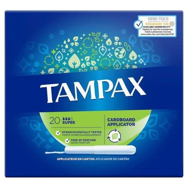 Tampax Super 20's