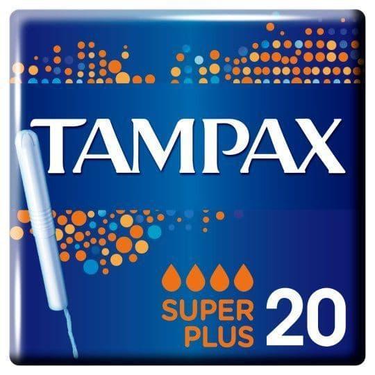 Tampax Super Plus 20's