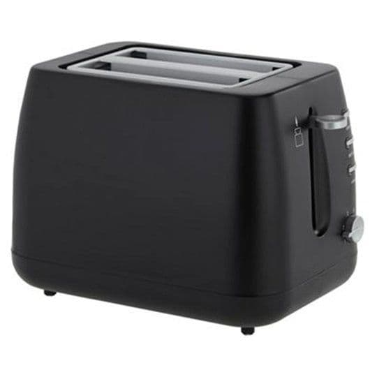 Tesco 2TBP13 Black Toaster 2 Slice