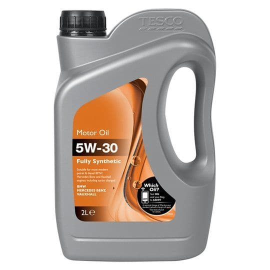 Tesco 5W-30 Fully Synthetic Oil BMW/Vx/Mb 2L