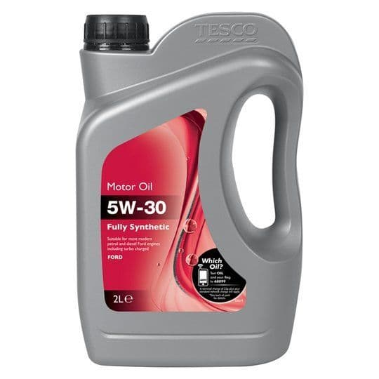 Tesco 5W-30 Fully Synthetic Oil Ford 2L