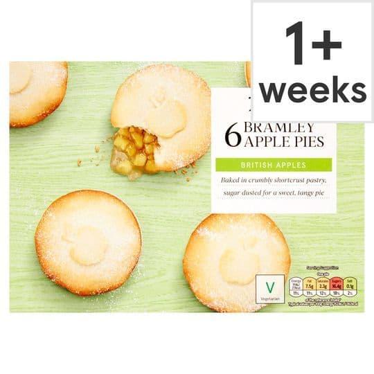 Tesco 6 Bramley Apple Pies