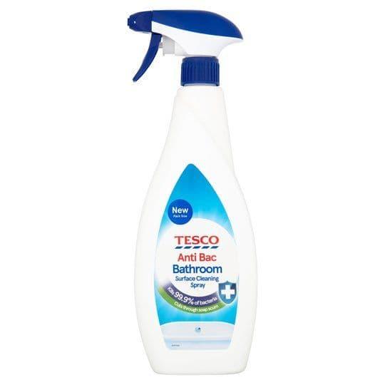 Tesco Anti Bac Bathroom 750ml spray