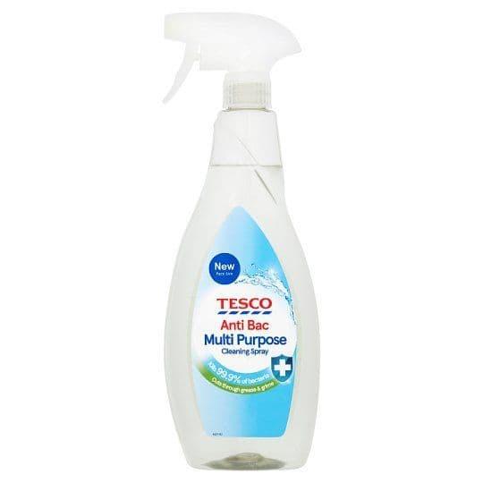 Tesco Anti bacterial Multipurpose Spray 750ml