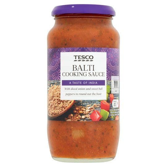 Tesco Balti Sauce 500g