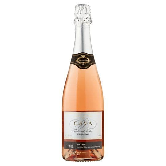 Tesco Cava Rosado NV 75cl