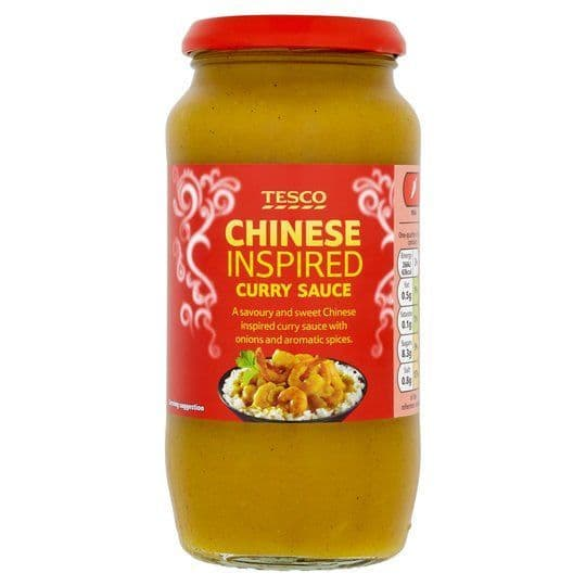 Tesco Chinese Style Curry Sauce 500g