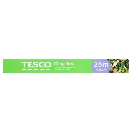 Tesco Cling Film 350mmx25m