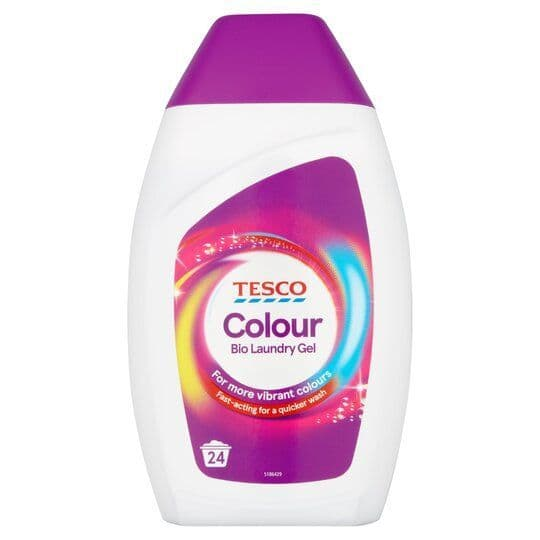 Tesco Colour Bio Laundry Gel 720ml