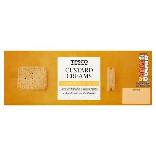 Tesco Custard Creams