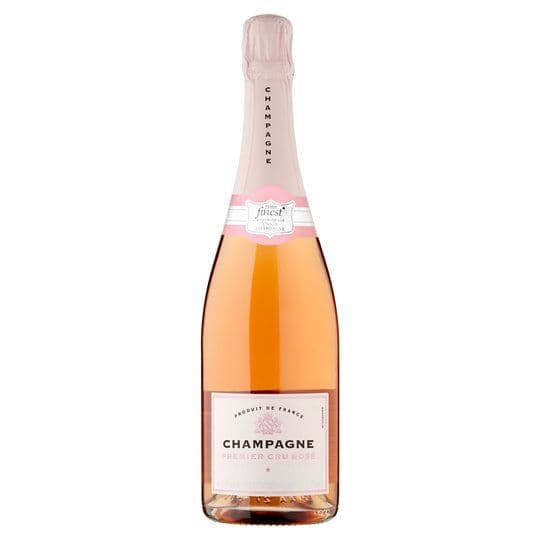 Tesco Finest Rose Champagne 75cl